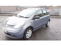 2007 Nissan Note VISIA MPV 1.4 Petrol 8 Month MOT FSH 69000 Miles Only Immaculate Condition.