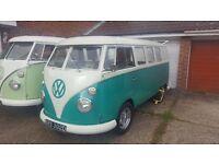 VW Splitscreen Camper 1966 LHD Import fully registered and MOT
