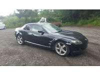 Mazda RX 8 231 Ps. engine rebuilt at 78000 miles with documentary evidence. April 2017 MOT