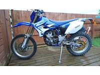 2005 Yamaha WR250F Enduro PX and Delivery possible