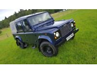 Landrover defender TD5 County Double Cab Pickup