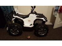 Electric quad bike perfect condition