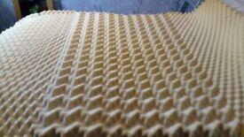 Memory foam mattress topper--DOUBLE