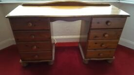 Bedroom Pine Dressing Table
