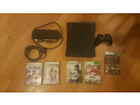 Xbox 360 + games + controller. Delivery options available.