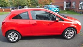Vauxhall Corsa Breeze 1.2Ltr. 2 lady owners from new, only 55000 miles.