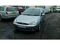 Ford focus 1.8tdci sport breaking half leather seats