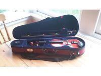 1/8 Stentor Student 2 violin, excellent condition