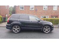 Stunning black honda crv i- vtec ex 2.0 5 door auto