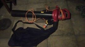 1800W Leaf Blower with Vacume Bag / suck and blow