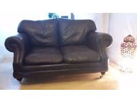Thomas Lloyd Sofa two seater brown leather Consort model