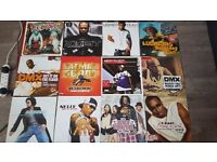 Hip hop / rap / RnB vinyl records includes Usher Ludacris DMX Missy Elliott R Kelly Eve D12 + others