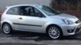 Ford Fiesta Zetec s,low mileage,one previous owner,excellent condition-2400.00