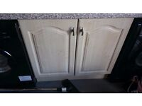 Kitchen units and sink for sale