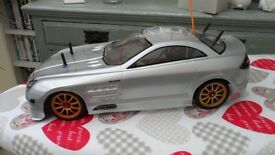 tamiya mercedes it's the old model