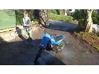 Yamaha PW80 child's motorbike, good condition, runs perfectly
