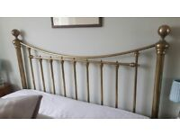 Brass Headboard for King Size Bed.