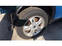 """MINI 2005 SET OFF -15"""" Inch Alloy Wheels With Tyres 175/65/ R15 4 STUD"""