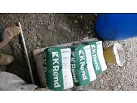 8 bags of k rend, pewter grey