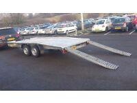 2014 ALUMINIUM CAR VAN TRANSPORTER TRAILER 2 AXLE 2500 kg