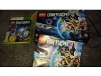 Lego Dimensions Starter Pack (for XBox 360) and various packs
