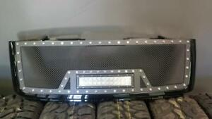 BRAND NEW 2007,2008,2009,2010,2011,2012 & 2013 GMC MESHED LED GRILL WITH FULL SHELL!-NO CUTTING REQ!-FINANCING AVAILABLE