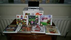 Nintendo 3ds box with 7 games excellent condition perfect Christmas gift