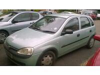 Vauxhall corsa , dual gear box, manual or auto