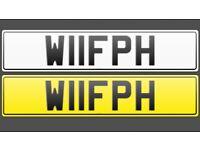 Private plate W11fph