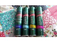 Brand New X4 Wella Silvikrin Hairspray