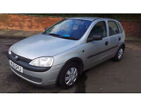 2001 51 VAUXHALL CORSA 973CC MOT 9/2017 PART EX WELCOME DELIVERY ANYWHERE IN UK