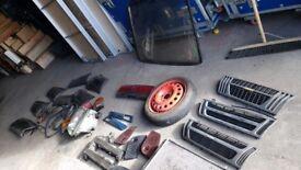 Classic Saab 900 rear window/ parts