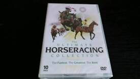 HORSERACING THE DEFINITIVE COLLECTION 10 DVD BOX SET NEW AND SEALED.