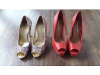 Ladies size 3 shoes by Kurt Geiger