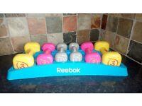 Reebok Womens Training Dumbbell Set