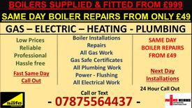 CHEAP Gas Safe Heating Engineer Plumbing Boiler Installation Breakdown Repair London Service Certifi