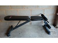 Weight/sit up bench