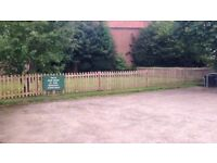 Used fence , 9 panels excellent condition