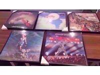 Framed Vinyl Albums.