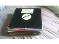 37 dance/house vinyl records