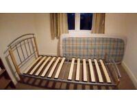Single modern bed