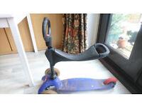 Mini Micro Scooter O bar and seat