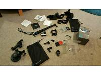 Gopro hero 4 Sliver Edition with offical accessories