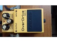 BOSS OD-3 OVER DRIVE EFFECTS PEDAL