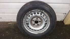VW T5 Wheel And Tyre