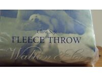 ULTRA SOFT THERMAL FLEECE THROW / BLANKET / TRAVEL RUG BRAND NEW