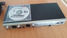 HERCULES FW 16/12 AUDIO MIDI INTERFACE VGC