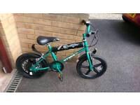 "Kids 16"" wheel bicycle"