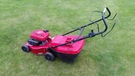 """Self propelled petrol lawnmower mower 18"""" cut"""