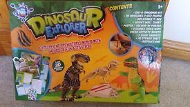 dinosaur explorer brand new